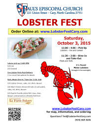 lobster fest flyers and business cards cards and flyers please pick up some business cards and a flyer or two at the lobster fest table outside of church on sunday and help get the word