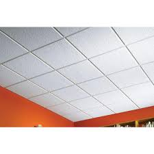 sagging tin ceiling tiles bathroom: usg ceilings luna climaplus  ft x  ft lay in ceiling tile  pack r the home depot