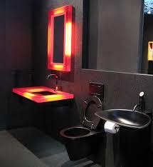 light wall ideas bathroom design black gothic retro bathroom interiordesign ideas
