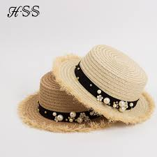 HSS <b>Hot Sale</b>+Flat top straw hat <b>Summer</b> Spring <b>women's</b> trip caps ...
