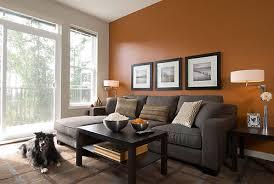ideas burnt orange: burnt orange living room wall color