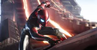 See Tom Holland's Crimson <b>Iron</b> Spider Suit For Avengers: Infinity War