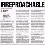 irreproachable