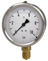 WIKA <b>Pressure</b> gauge, <b>0-6 Bar</b> available to buy from BSRIA ...