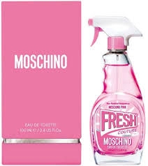 <b>Moschino Pink Fresh Couture</b> EdT 50ml in duty-free at airport ...