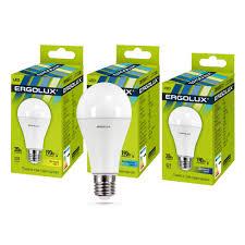 <b>Светодиодная лампа Ergolux LED</b>-A65-20W-E27-6K ...