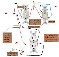 wiring diagram for 3 way switched receptacle the wiring diagram 2011 nec power outlet 3 way half switched electrical wiring done right wiring diagram