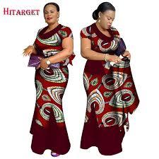 <b>Hitarget 2019 New African</b> Fashion Matching skirt sets Women's ...