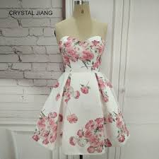<b>CRYSTAL JIANG</b> Cocktail Dresses Simple Design Sweetheart ...