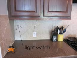 i also really like how they each came with their own light switch i attached the switch on the side of each cabinet makes turning them off and on so easy cabinet light switch