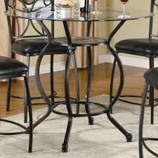 tables black wrought iron furniture