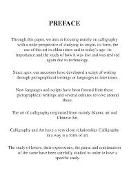 Calligraphy RESEARCH THESIS SlideShare