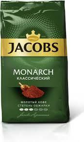 <b>Jacobs Monarch кофе молотый</b>, 230 г — купить в интернет ...