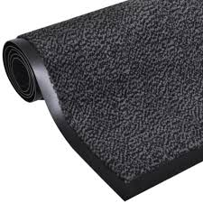 <b>Dust Control Mat Rectangular</b> 120 x 90 cm Anthracite | Rectangular ...