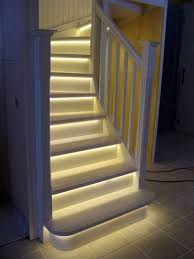 view in gallery basement stairs with led lighting baseboard lighting
