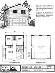 ideas about Garage Apartment Plans on Pinterest   Garage     car garage   second story apartment plan no  by Behm Design x garage apartment has full second story above and external stairway