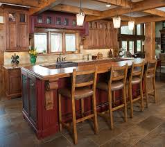 rustic kitchen island:  images about kitchen islands on pinterest rustic kitchen island ohio and custom kitchens
