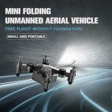 <b>Mini</b> Folding Unmanned Aerial Vehicle Pocket <b>Drone Four</b>-<b>Axis</b> ...