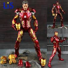 <b>New Hot TheAvengers</b> IronMan Action Figure Model 20cm MK42 ...