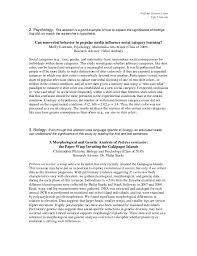 writing a psychology essay Sample psychology extended essays durdgereport web fc com