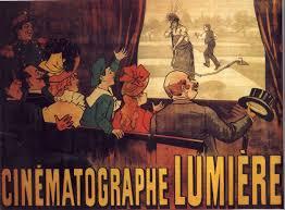 Resultado de imagem para os irmãos lumière criaram o cinematógrafo antecedente do cinema (1895)