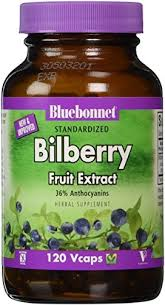 Bluebonnet <b>Standardized Bilberry Fruit Extract</b>, 120 Ct - Walmart ...