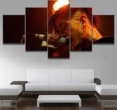 <b>5 Pieces HD Print</b> Large Lil Peep Music Poster Cuadros Decoracion ...