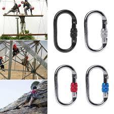 <b>25KN Professional</b> Carabiner Rock Climbing Equipment O Shape ...