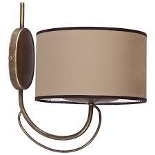 Настенный светильник <b>Nowodvorski Amara</b> Coffee <b>4134</b>, 60 Вт