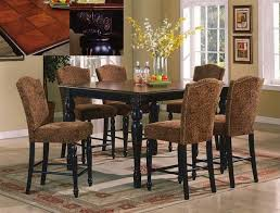 cherry counter height piece: erica  piece counter height dining set in black cherry finish by crown mark