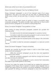 comparison essay ideas how to write a conclusion for a critical        college essays college application essays how to write and how to write a good essay conclusion