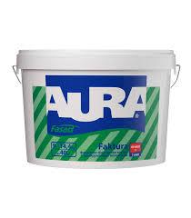 <b>Краска в/д</b> фактурная <b>Aura</b> Fasad Faktura основа А 9 л — купить в ...