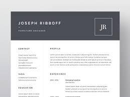joseph ribboff resume cv template resume templates on creative joseph ribboff resume cv template resume templates on creative market