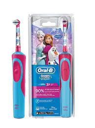 <b>Детская электрическая зубная</b> щетка Vitality Frozen Oral-B ...