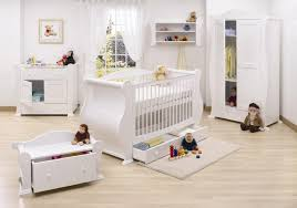 adorably cute baby furniture of white theme bright nursery interior ideas painted white cute baby adorable nursery furniture