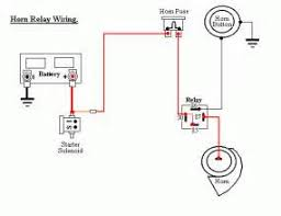 horn wiring diagram a relay horn wiring diagrams horn relay wiring