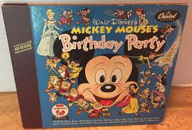 Mickey Mouse - <b>Mickey Mouse's Birthday Party</b> (1953, Vinyl) | Discogs