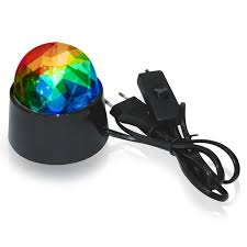 Настольный ЛЕД светильник ДИСКО 3Вт RGB REV 32455 3 по ...