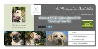 obituaries pets held dear create your online memorial