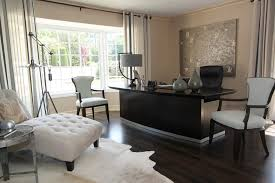 modern executive desk home in home office contemporary with chaise lounge baseboards alcove contemporary home office