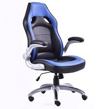 costway pu leather executive racing style bucket seat office desk chair gaming chair bucket seat desk chair