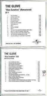 THE <b>GLOVE Blue Sunshine</b> CD-R - Positive Noise