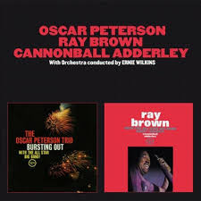 <b>Bursting</b> Out/With the All-Star Big Band by <b>Oscar Peterson</b>/Ray Brown.