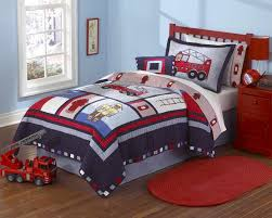 fireman fire truck quilt boys bedding sets in full queen or twin bedding sets twin kids