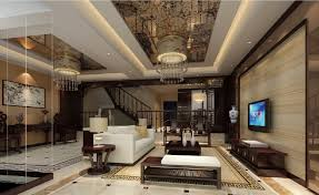 elegant retro chinese villa living room decoration chinese living room decor