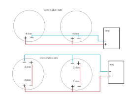 wiring dual voice coil wiring image wiring diagram dual 4 ohm voice coil wiring dual auto wiring diagram schematic on wiring dual voice coil