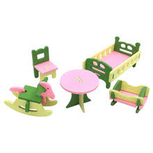 1 Набор/5 шт Детские деревянные <b>кукольные домики мебель</b> ...