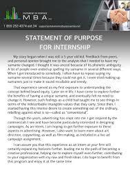 statement of purpose for internship statement of purpose mba best statement of purpose for internship services