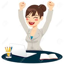 successful w cliparts stock vector and royalty successful w beautiful happy successful w celebrating raising arms up expressing joy