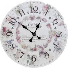 <b>Белые настенные часы</b> купить в интернет магазине